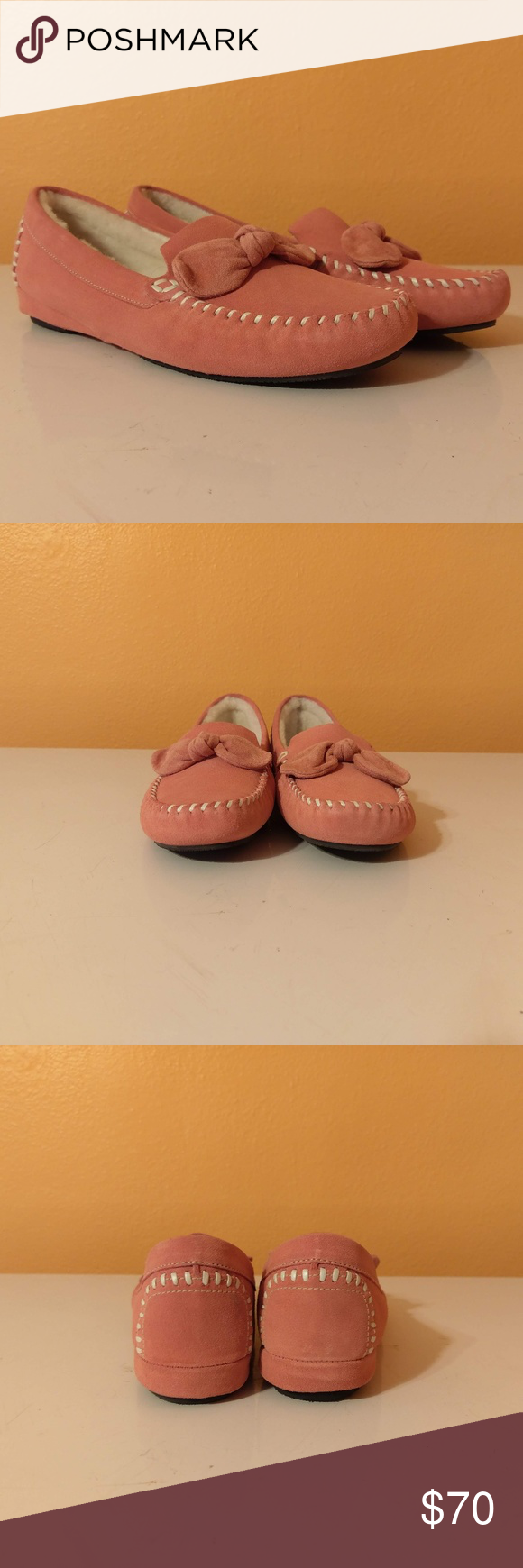 Cole Haan Flats House Slippers Moccasin