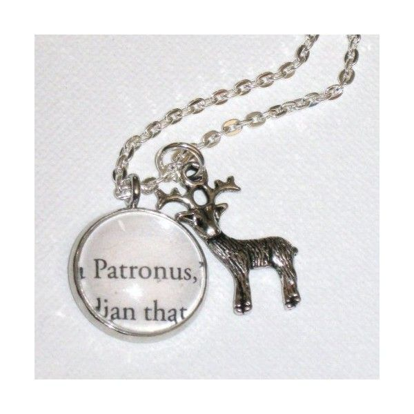 Harry Potter Book Charm Patronus Pendant | Thegreenforrest - Jewelry... ($16) ❤ liked on Polyvore featuring jewelry, pendants, harry potter, hp, joias, pendant charms, charm jewelry, charm pendant and pendant jewelry