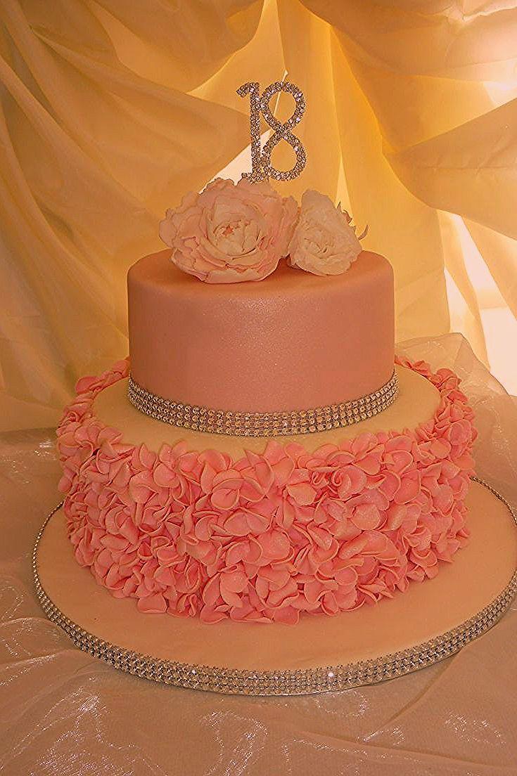 Homemade Cake Birthday 18th