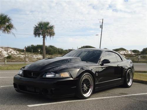 1999 04 Mustang Ho Fibertrends Fiberglass Cowl Hood 4 By H O