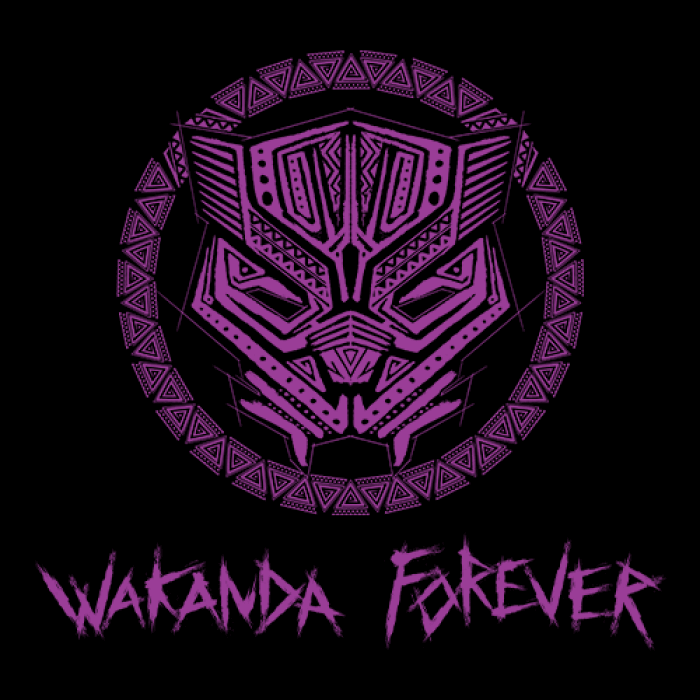 Wakanda Forever Marvel Official Full Sleeves T Shirt Black Panther Marvel Black Panther Black Panther Tattoo