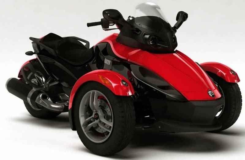 Spyder 3 Wheel Motorcycle