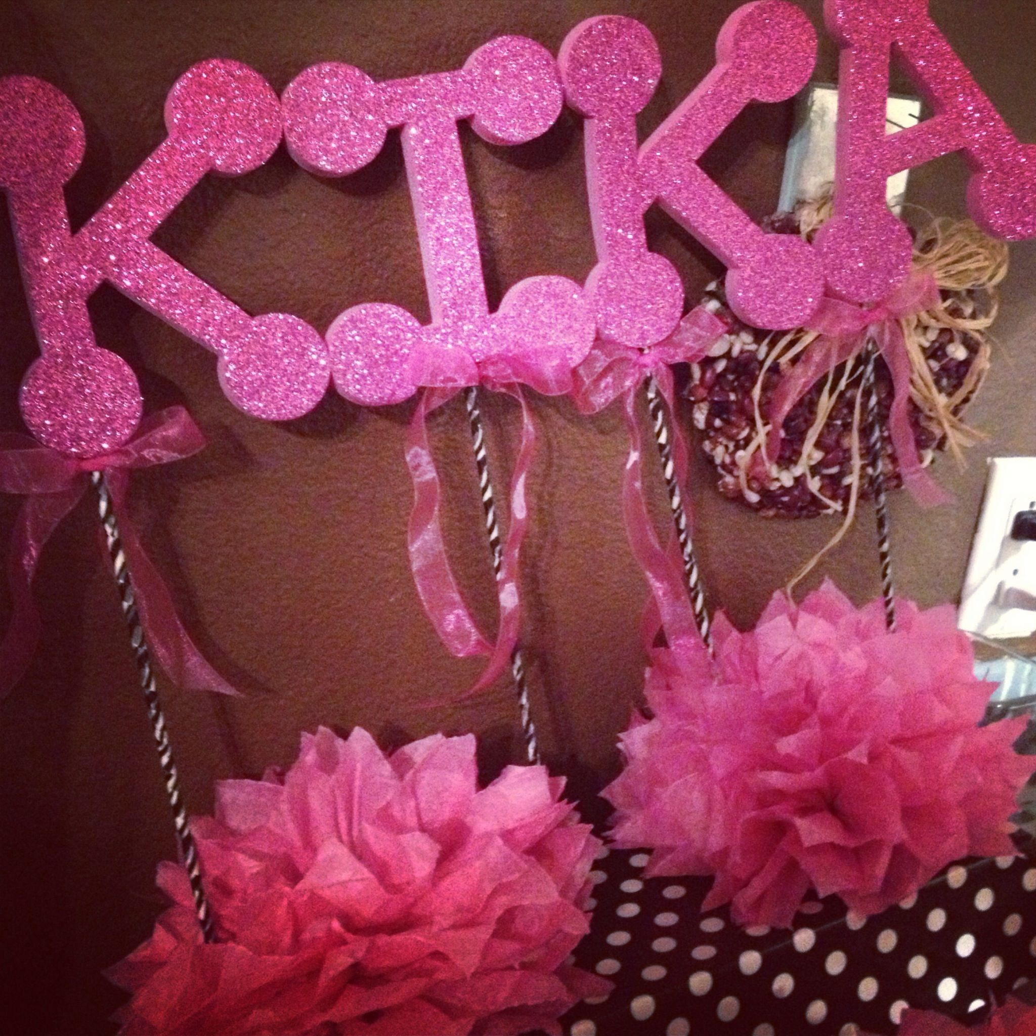 DIY Minnie Mouse Decorations For Kika Pinterest Minnie mouse