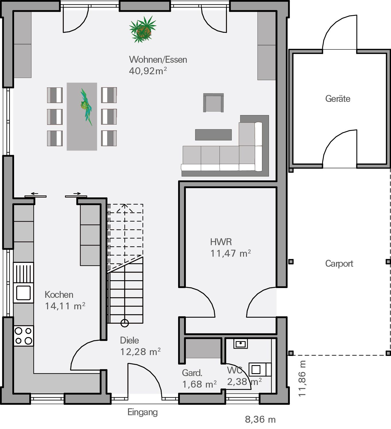grundriss eg vollrath architektur house home decor und architecture. Black Bedroom Furniture Sets. Home Design Ideas