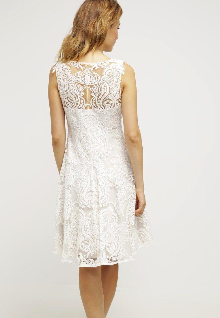 Marchesa Notte Cocktailkleid / festliches Kleid - white - Zalando.de ...