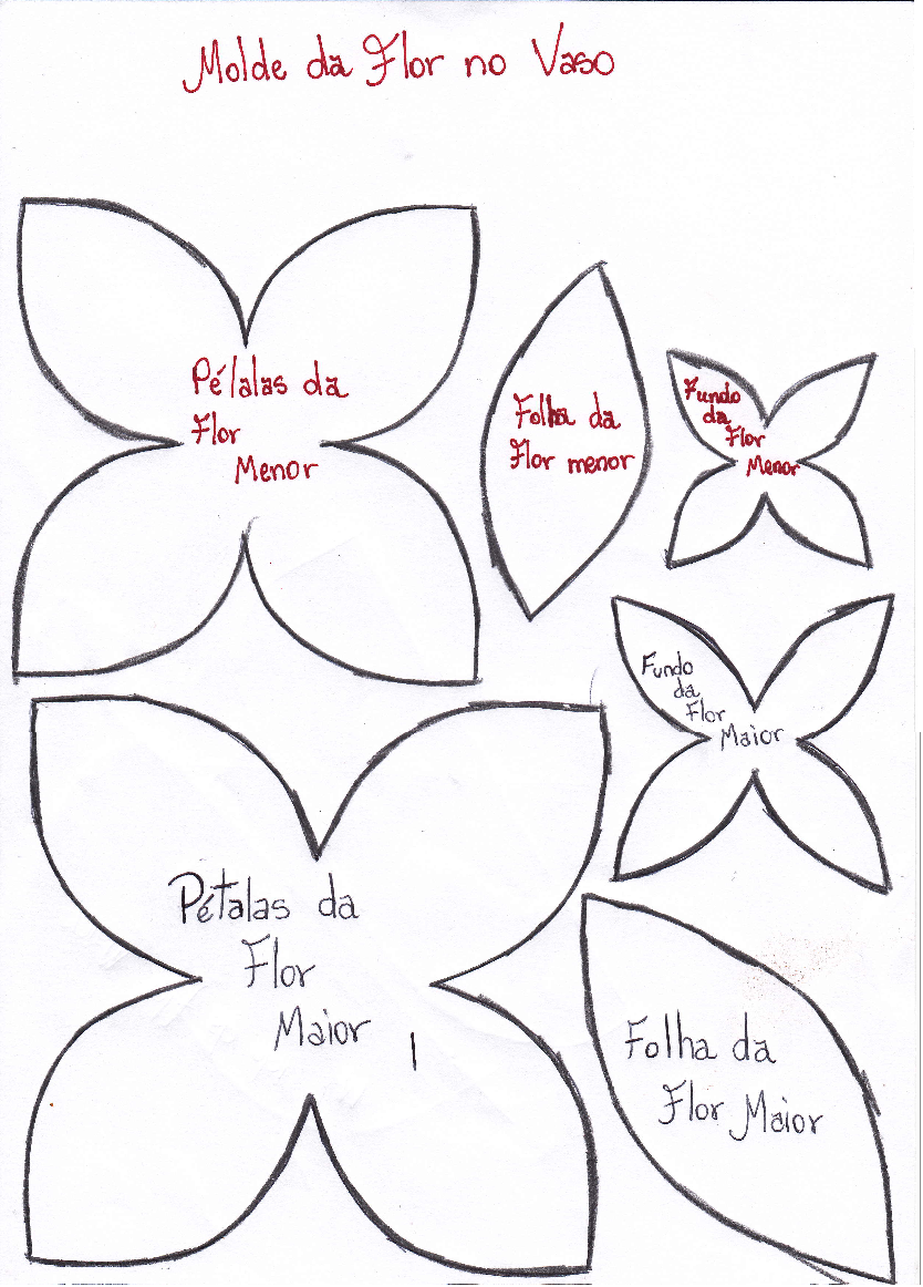 patrones de flores de papel para imprimir - Buscar con Google ...