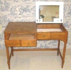 Ethan Allen custom room plan maple vanity