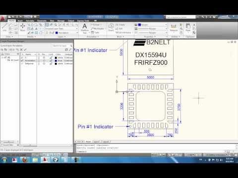AutoCAD Training - \'Practicing\' Integrated Circuit [IC]   firma de ...