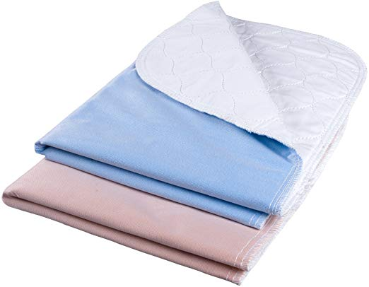 Amazon Com Waterproof Reusable Incontinence Bed Pads Washable Incontinence Underpads High Absorbency 28 X20 Inch No In 2020 Waterproof Mattress Washable Pads Bed Pads