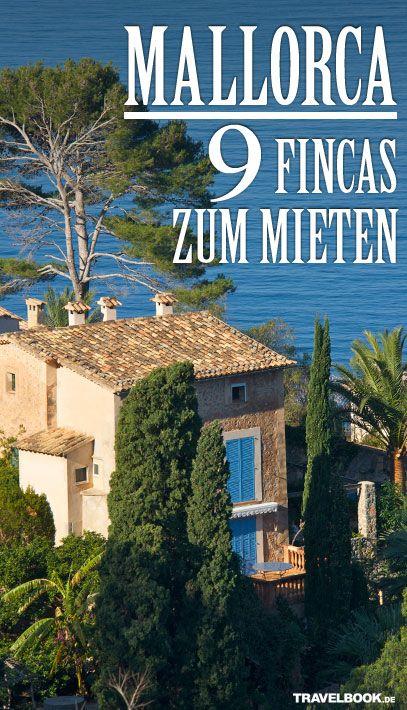 Die 9 sch nsten fincas zum mieten mallorca mallorca for Mallorca haus mieten