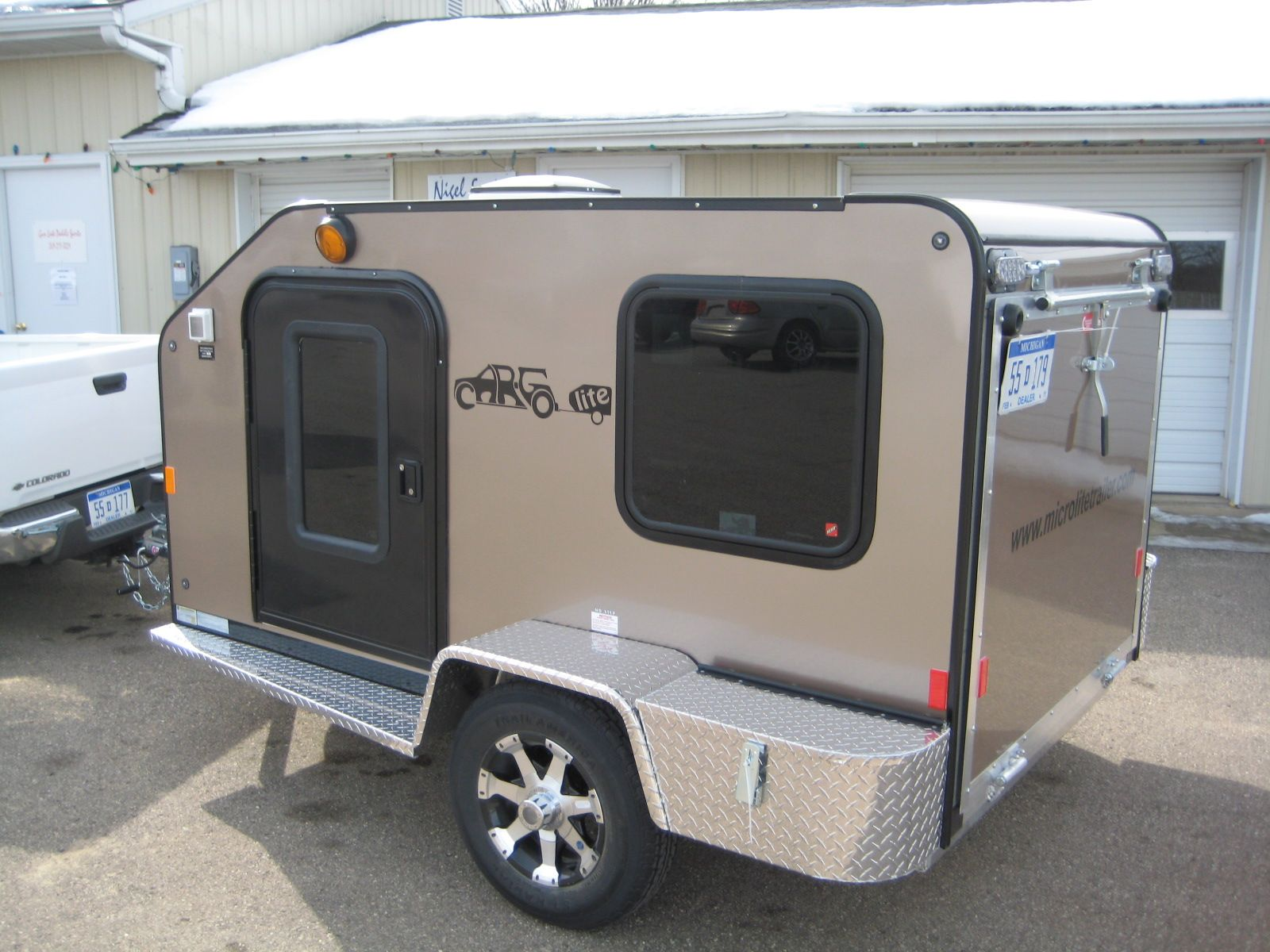 microlite trailers camper trailers pinterest wohnwagen camping anh nger und wohnmobil. Black Bedroom Furniture Sets. Home Design Ideas