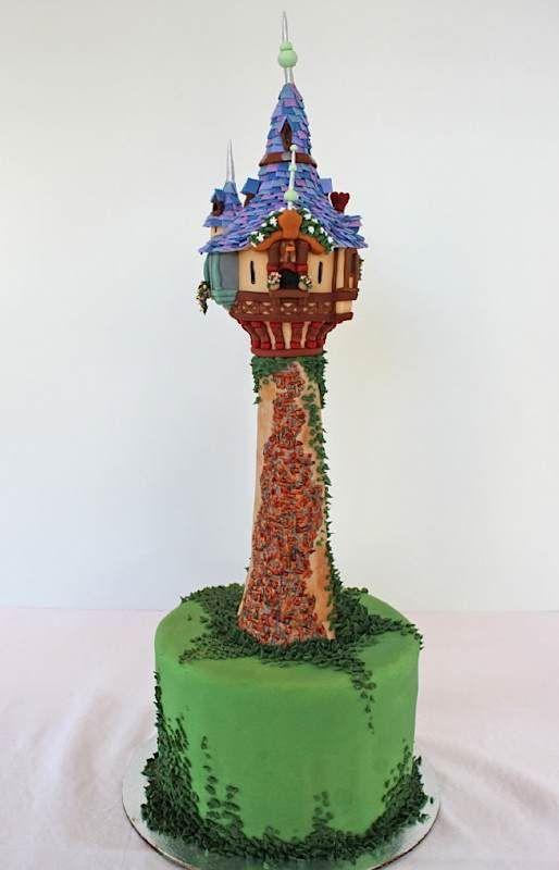 Amazing cake! Rapunzel's (?) tower?