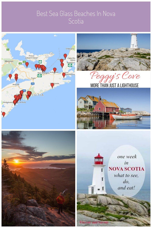 Best Sea Glass Beaches In Nova Scotia In 2020 Sea Glass Beach