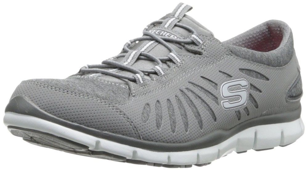 Skechers Sport Women S Tgif Fashion Sneaker Grey 8 B M Us