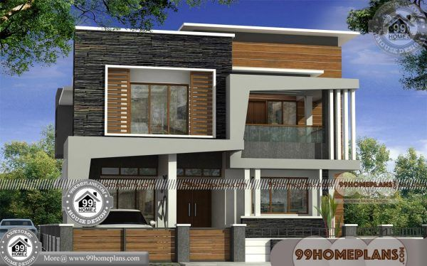 3 Bedroom Kerala House Plan With 3d Elevations 2 Floor Flat Roof Ideas Kerala House Design Kerala Houses House Plans