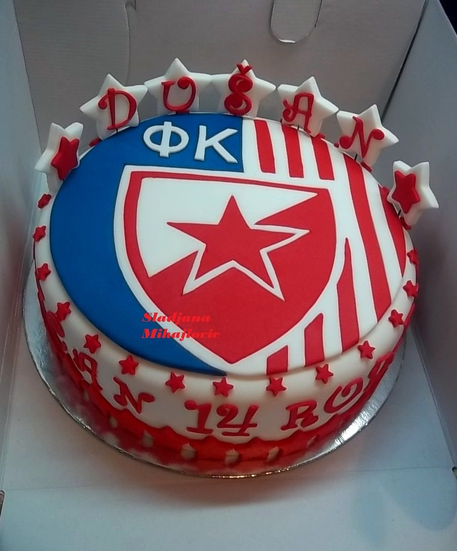 Google themes crvena zvezda - Crvena Zvezda Torta Red Star Cake