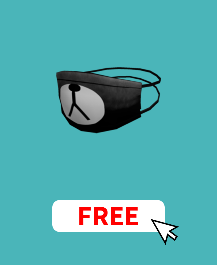 Get The Bear Face Mask On Roblox For Free By Earning Free Robux On