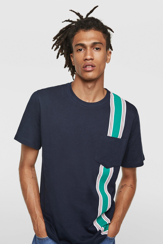 85a4e4058a5e Image 2 of BAND T-SHIRT from Zara Vertical Striped Shirt, Vertical Stripes,