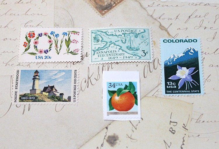 Reserved Custom Order For Micahdowling1 Unused Vintage Us Postage