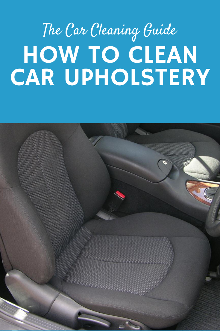 How to Clean Car Upholstery #cleaningcars