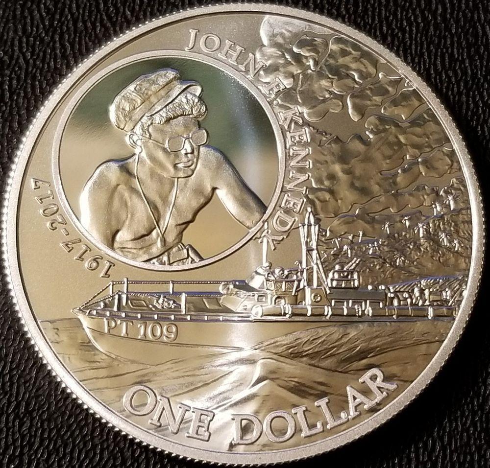 2017 Solomon Islands Silver John F Kennedy 1 Oz 999 Fine Silver Coin Silver Bullion Coins Silver Bullion Silver Coins