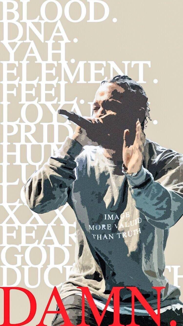 Download Damn Wallpapers Kendrick Lamar Wallpaper