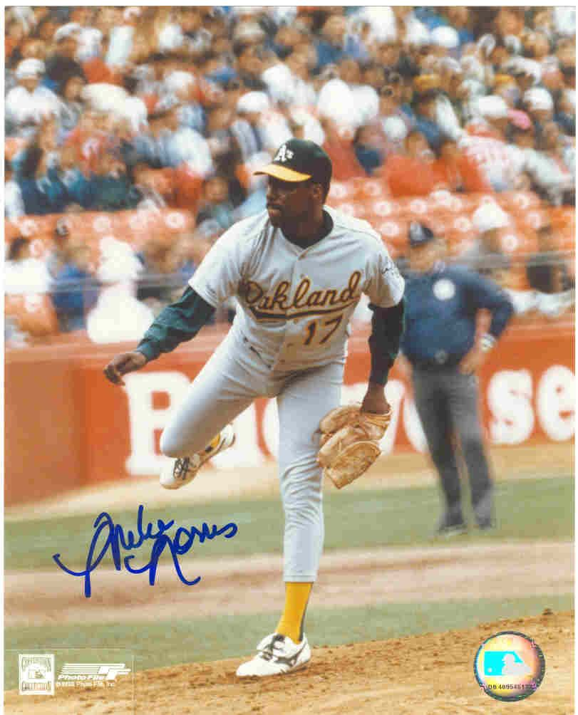 A's Flame thrower Mike Norris Mlb players, Baseball