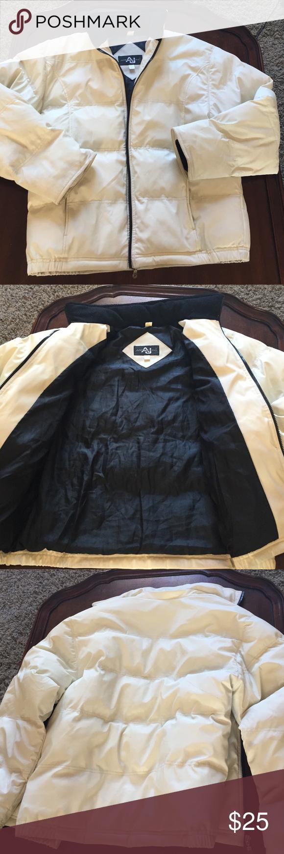 Andy John S Heavy White Puffer Jacket Puffer Jackets Jackets Puffer [ 1740 x 580 Pixel ]