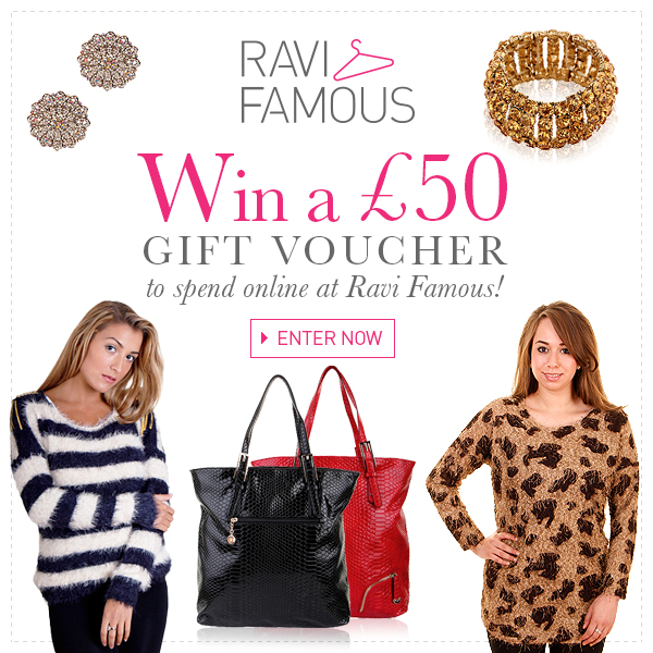 Win £50 to spend at Ravi Famous! Ends 25.11.12 #Win #Competition