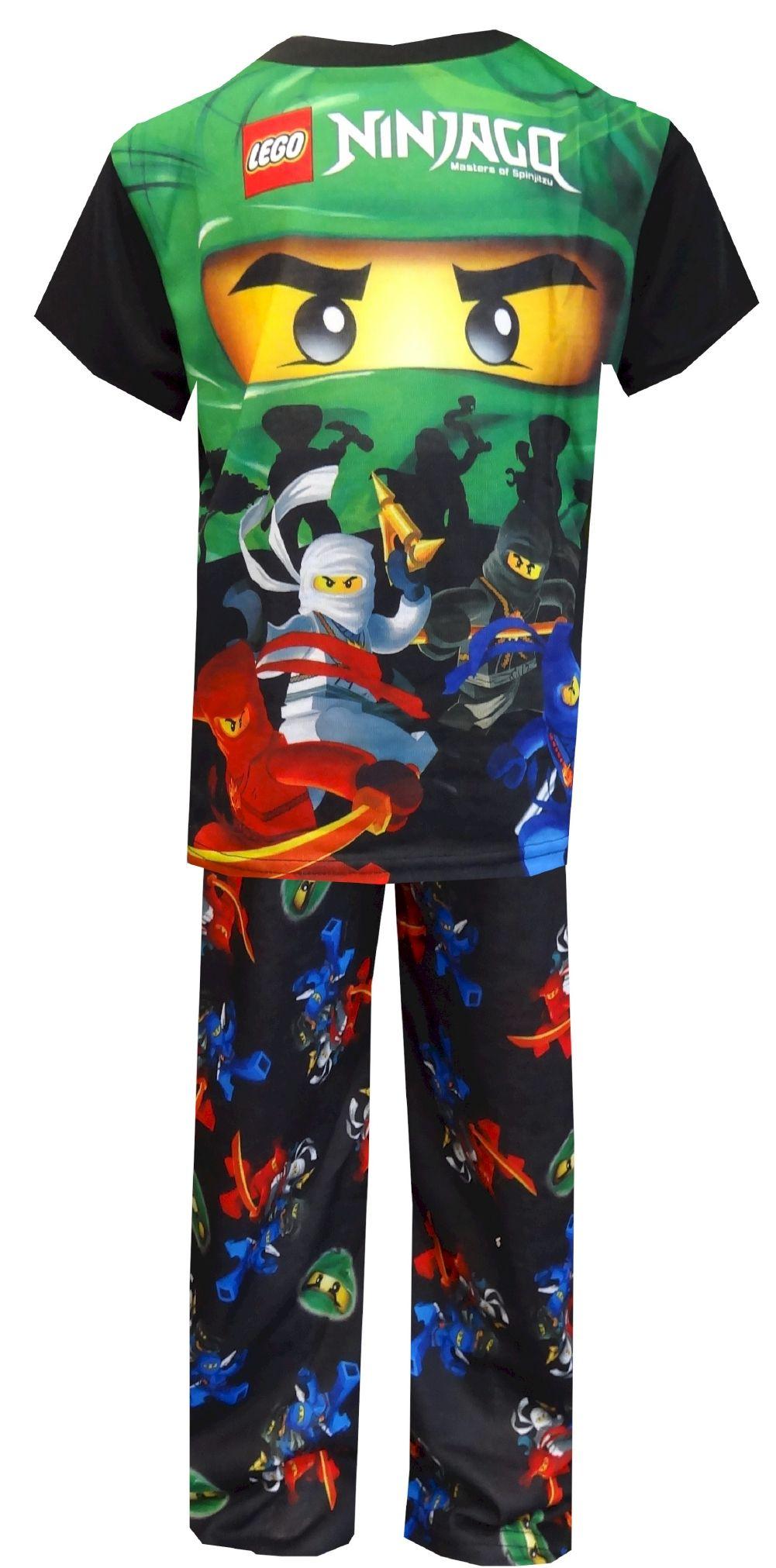lego ninjago masters of spinjitzu lloyd garmadon pajamas watch out