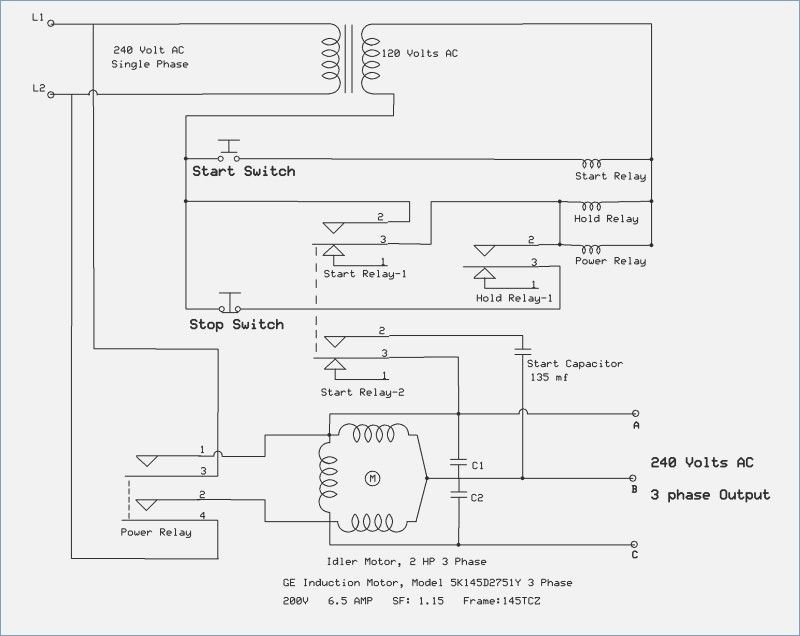 Wiring Diagram For Rotary Phase Converter – yhgfdmuor | Diagram, Converter,  RotaryPinterest