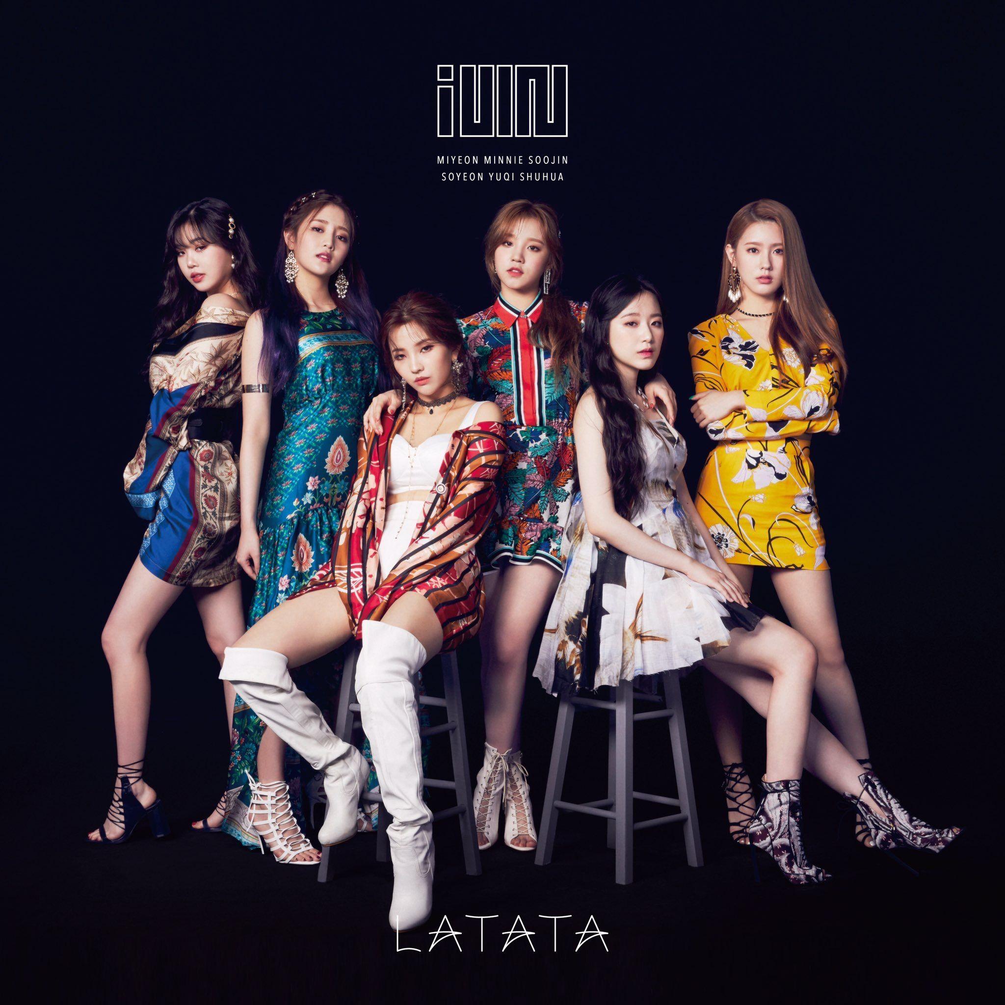 Latata Japanese Version 7 31 19 Latata Idle Gidle Kpop Yuqi Soyeon Shuhua Soojin Minnie Miyeon Kpop Girls South Korean Girls Neverland