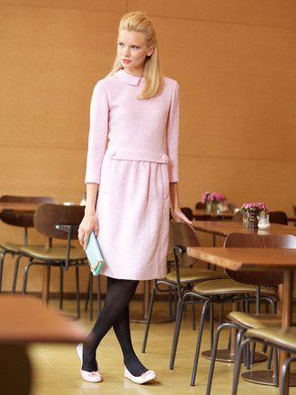 Kleid 60er nahen