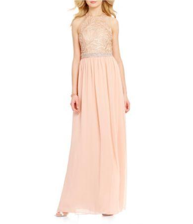 Pink Long Prom Dress Dillardsprom Dressesdressesss