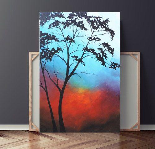 Tree Painting Abstract Original