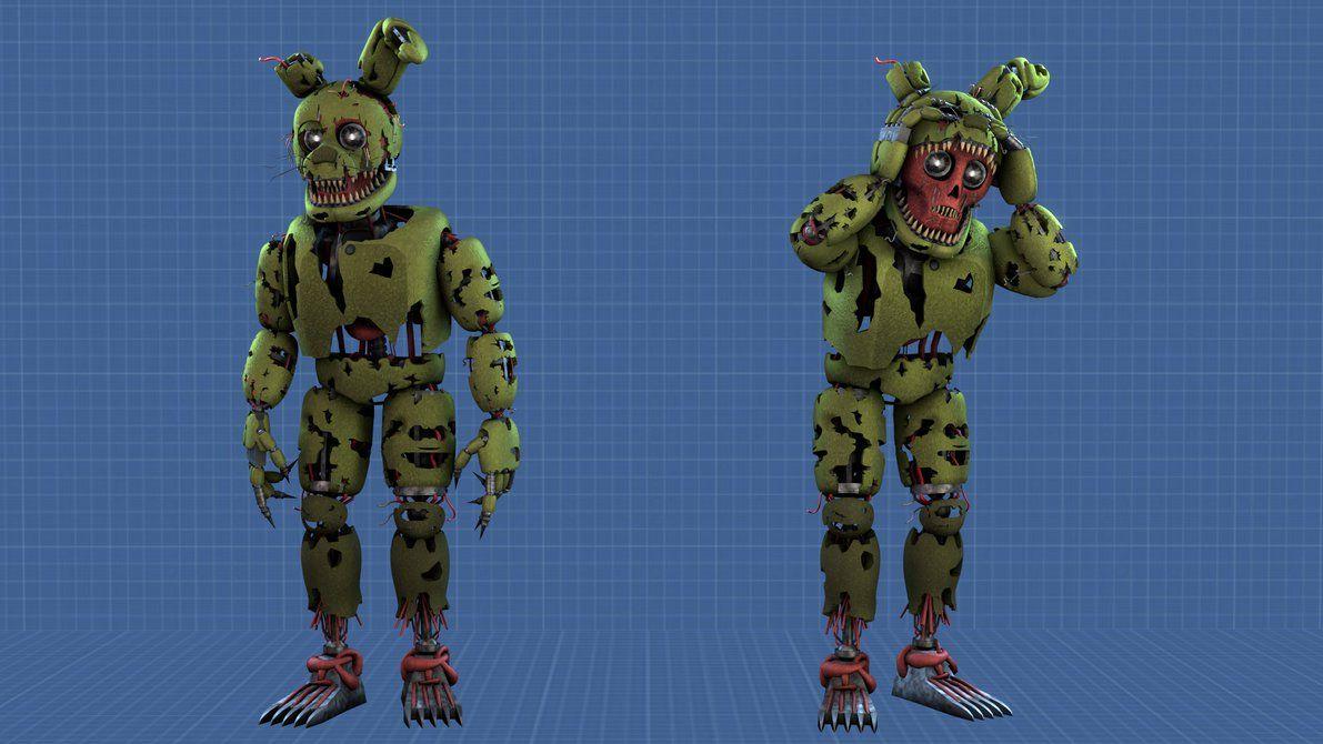SFM FNAF] Nightmare Springtrap V 2 by TigenNas   Springtrap