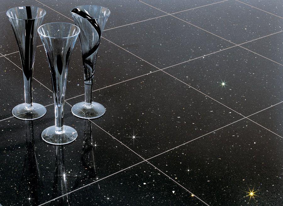 Glitter Black Tiles Black Quartz Tiles Quartz Tiles Quartz Flooring