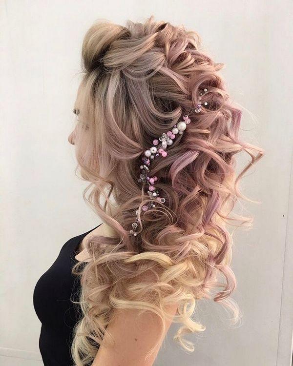 Hairstyles For Weddings Elstile Long Wedding Hairstyle Inspiration  Wedding Hairstyles