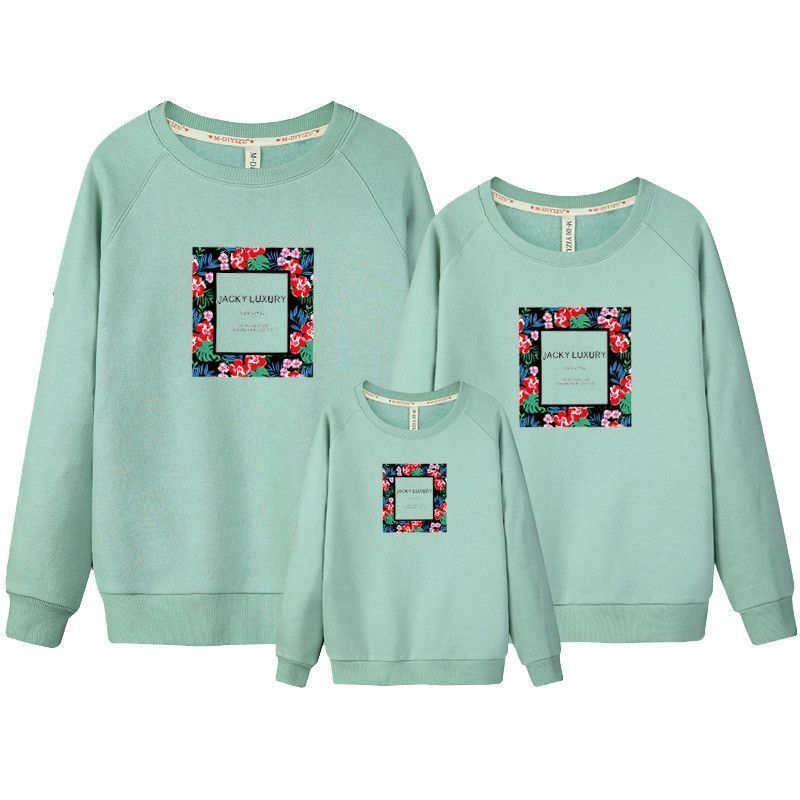 2016 christmas family look girl and mother hoodies matching mother daughter clothes father son outfits mommy and me clothes