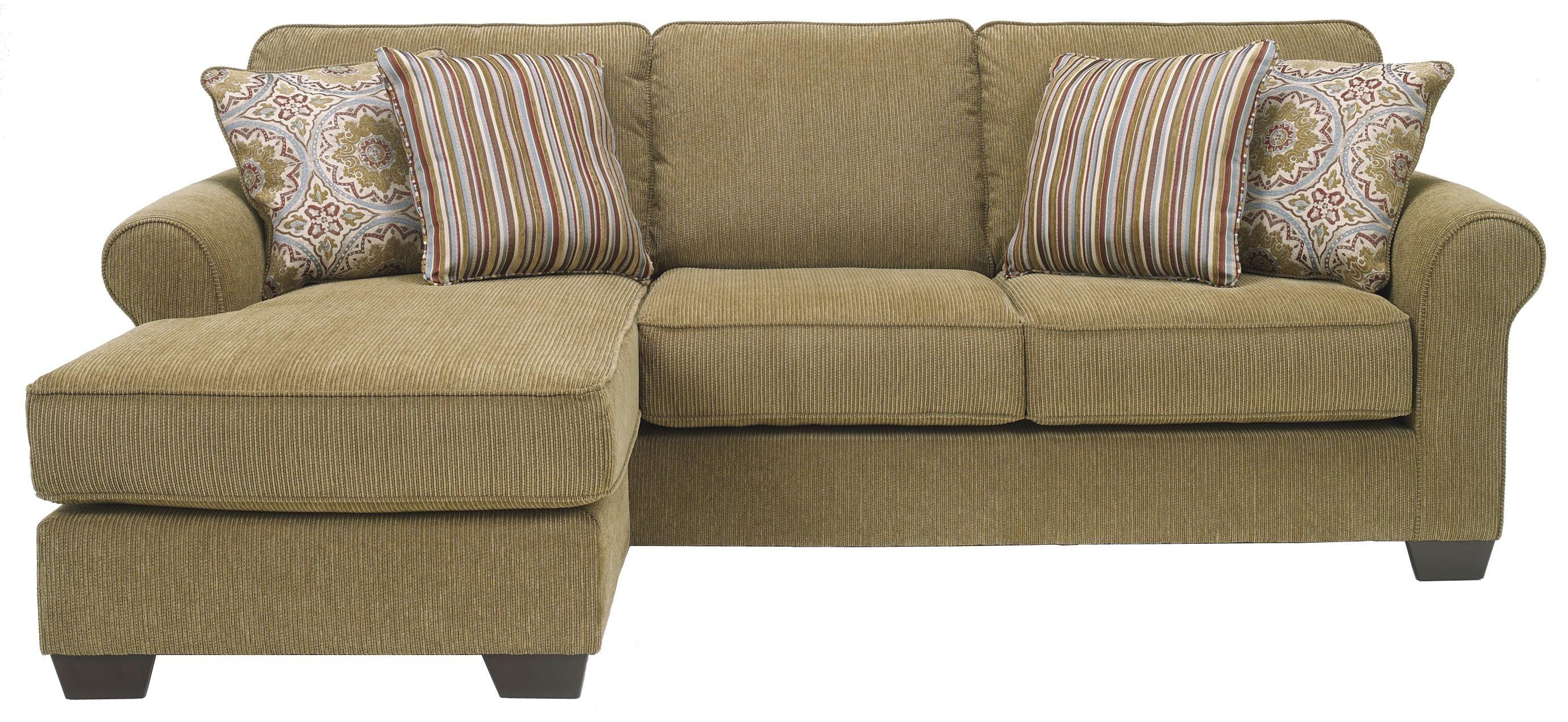 Corridon   Burlap Sofa Chaise By Benchcraft By Ashley