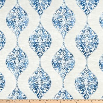 Magnolia Home Fashions Romano Ocean In 2020 Magnolia Homes Blue Curtains Ocean Fabric