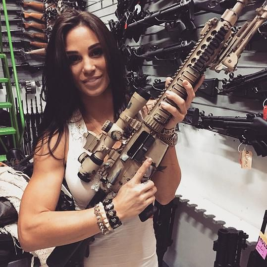 Amy Jane, Former Marine, Shooter Instructor, Fighter,and