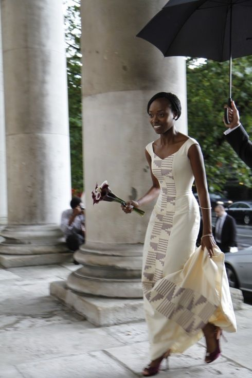 """""""A London Wedding With African Influences"""" by Yemi Kosibah. Couture Bridal & Eveningwear Designer YemiKosibah, a Couture Bridal and Eveningwear designer shares with us """"Kosibah real bride Anu's wedding"""" a London wedding with African influences with very fond memories. *** . . . Her wedding was one of those rare ones that allowed me to fully display..."""