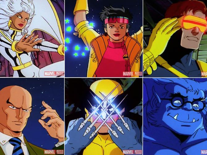X Men Could Star In A Superpowered Tv Show If Fox Can Convince Marvel 90s Xmen Cartoon X Men Marvel Cartoons
