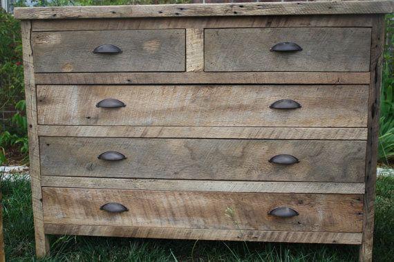 Natural Gray Reclaimed And Recylced Barn Wood Shelf With Coat Hooks Rustic Dresser Barn Wood Barnwood Furniture