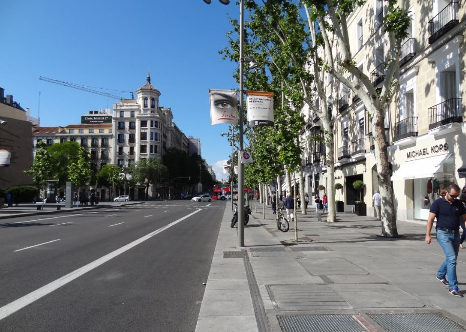 Calle serrano madrid metrhispanico mis sitios - Calle serrano 55 madrid ...