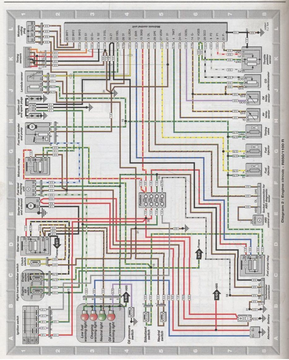 Bmw R1200rt Wiring Diagram With Schematic BMW Bmw R1200rt