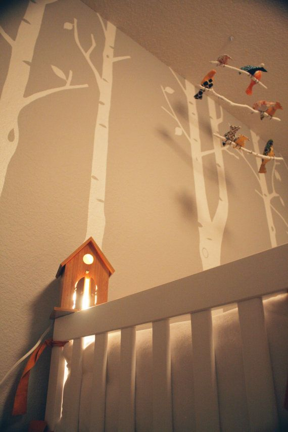 Woodland Theme Birdhouse- Birdhouse Only