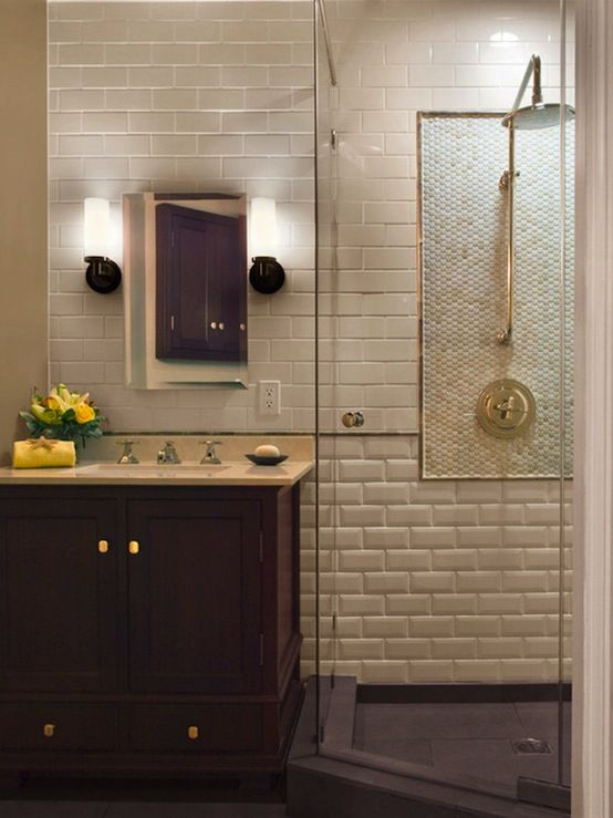 Glass Tile Bathroom Designs Alluring I Don't Believe In Bathtubs  They Just Take Up Space And Require Decorating Inspiration