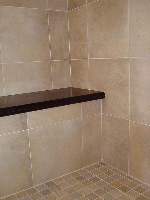 Shower bench detail | Bathroom | Pinterest | Shower benches, Bench ...